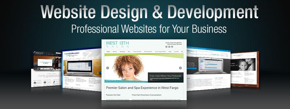website design development bng design west fargo nd
