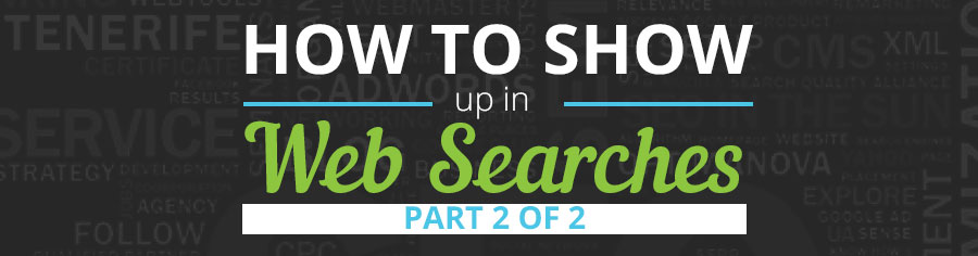 show up in google search bing yahoo web design fargo nd