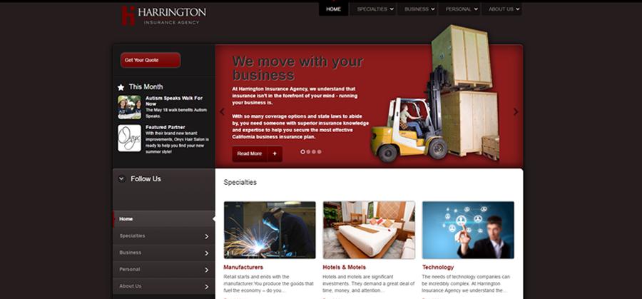 Harrington Insurance Before