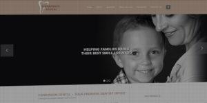 Hankinson Dental website design and development - BNG Design - Fargo, ND