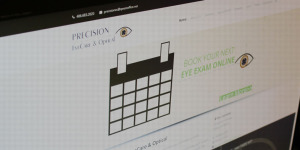 Precision Eyecare Optical Featured Image - BNG Design - West Fargo, ND