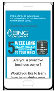 Responsive Email Marketing Fargo ND BNG Design Autoresponder Automation