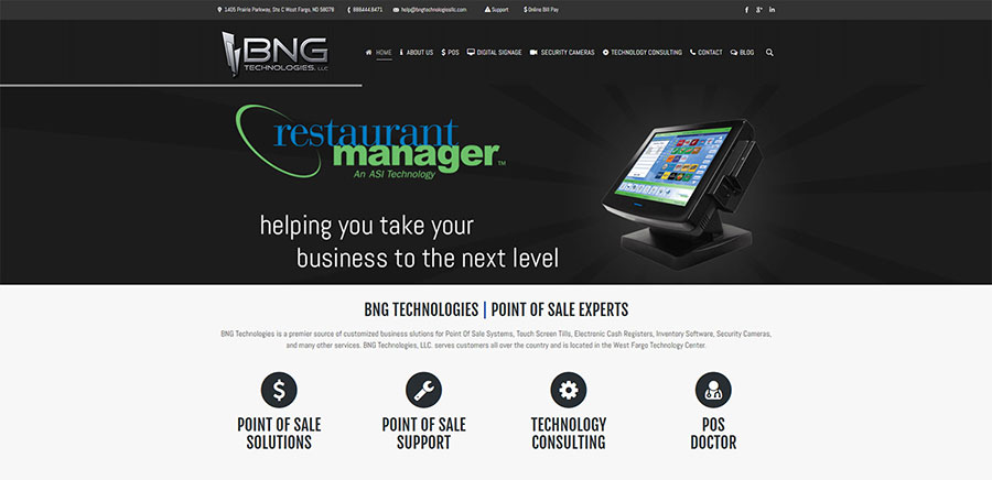 BNG Technologies LLC Home - BNG Design - West Fargo, ND