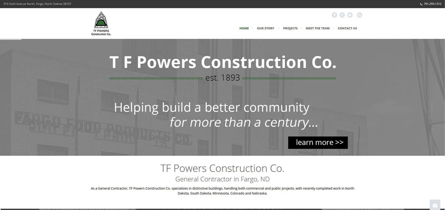 TF Powers Construction Home - BNG Design - West Fargo, ND