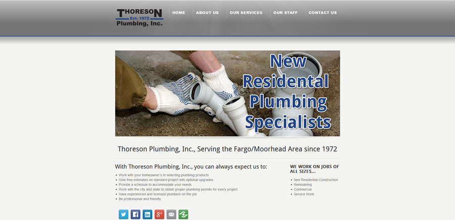 Thoreson Plumbing Home - BNG Design - West Fargo, ND