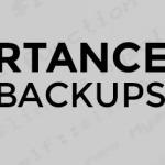 Importance of Having Backups BNG Design Websites Fargo ND