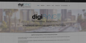 digiSYNC website design and development - Technology solutions and managed services - BNG Design - Fargo, ND