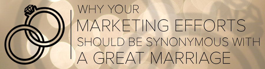 Why Your Marketing Efforts Should Be Synonymous With a Great Marriage