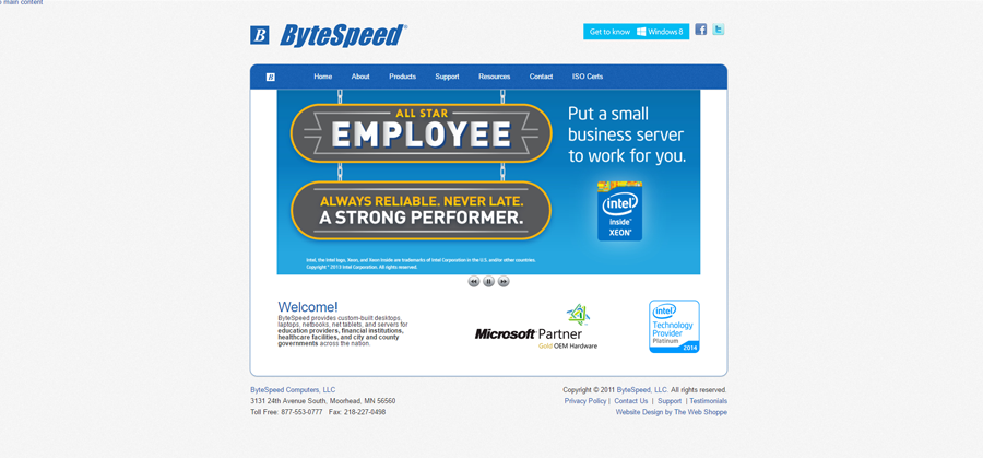 ByteSpeed Before