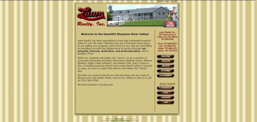 Lawn Realty Before - BNG Design