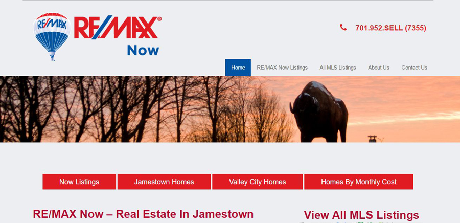 Lawn Realty - Web Design - BNG Design - West Fargo, ND