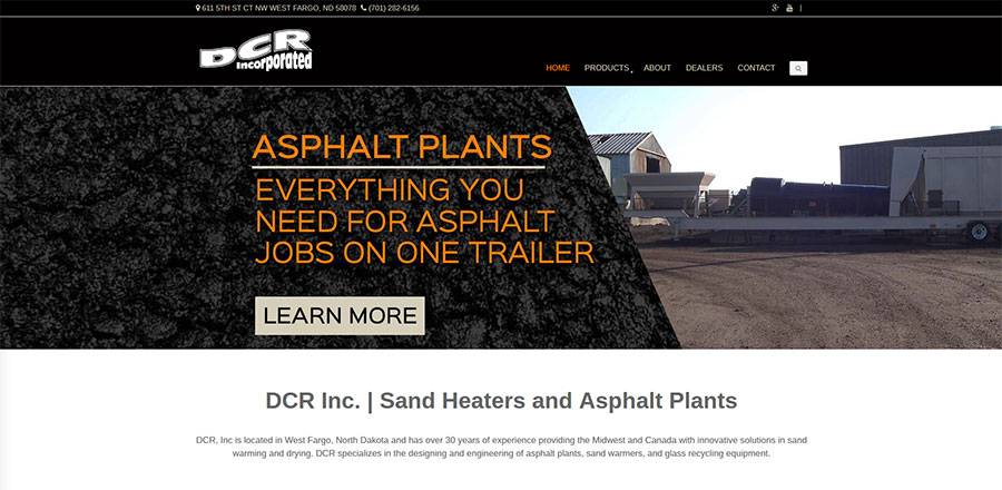 DCR Home Page - BNG Design - West Fargo, ND