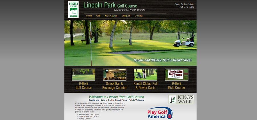 Lincoln Golf Course Before