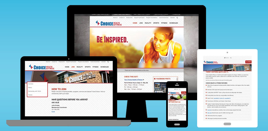 Choice Health & Fitness » BNG Design | Fargo, ND