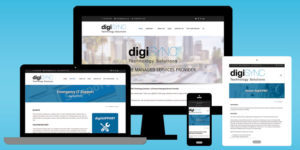 digiSYNC Website - BNG Design - West Fargo, ND