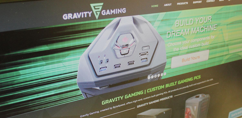 Gravity Gaming Website - BNG Design - West Fargo, ND