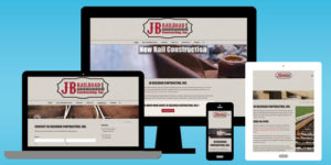 JB Railroad Website - BNG Design - West Fargo, ND