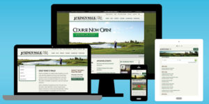 King's Walk Golf Course Website - BNG Design - West Fargo, ND