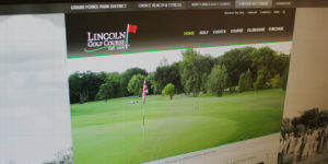 Lincoln Golf Course Website - BNG Design - West Fargo, ND