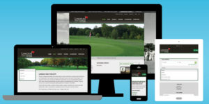 Lincoln Golf Course Website Design - BNG Design - West Fargo ND