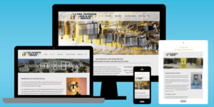 Lynn Johnson Lock and Key Website - BNG Design - West Fargo, ND