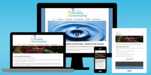 Partners for a Healthy Community Website - BNG Design - West Fargo, ND