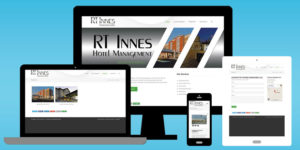 RT Innes Website - BNG Design - West Fargo, ND