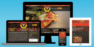 Spicy Pie Pizza Website Design - BNG Design - West Fargo, ND