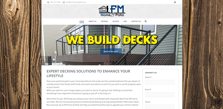 FM Home & Patio - Home Page