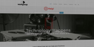 Workgroup Consulting website design and development - Technology management and workflow consulting - BNG Design - Fargo, ND
