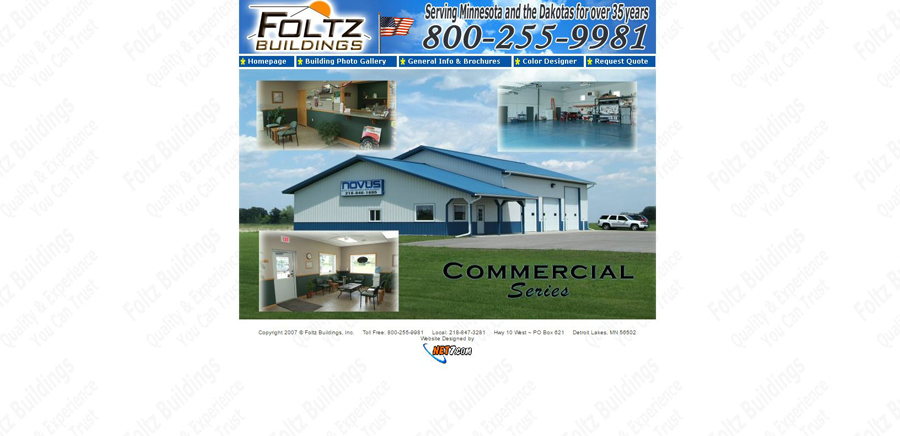 Foltz Building - Web Design - BNG Design - West Fargo, ND