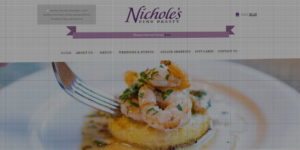 Nichole's Fine Pastry website design and development - Bakery, foods, and event catering in Fargo/Moorhead - BNG Design - Fargo, ND