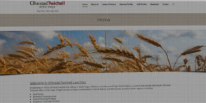 Ohnstad Twichell Attorneys website design and development - Real estate, business, corporate, estate, litigation, civil, and criminal law firm - BNG Design - Fargo, ND