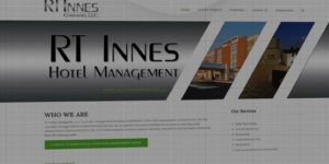 RT Innes Hotel Management website design and development - Hotel development and renovations in Grand Forks, MN - BNG Design - Fargo, ND