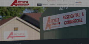 Archer Real Estate website design and development - Residential and commercial properties for sale - BNG Design - Fargo, ND