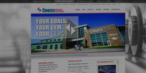 Choice Health and Fitness website design and development - Gym and wellness services in Grand Forks, North Dakota - BNG Design - Fargo, ND