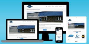 Dakota Bumper and Body Supply web design portfolio screenshots - BNG Design - West Fargo, ND