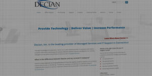 Decian website design and development - Managed IT services and support - BNG Design - Fargo, ND