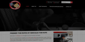 Hercules Tow Ropes website design and development - Wholesale and retail supplier for car and truck tow ropes and straps - BNG Design - Fargo, ND