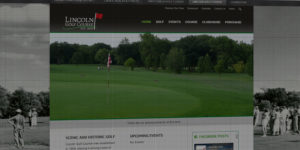 Lincoln Golf Course website design and development - Golf course in Grand Forks, North Dakota - BNG Design - Fargo, ND