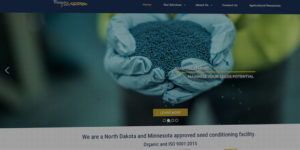 Weinlaeder Seed Website BNG Design West Fargo North Dakota